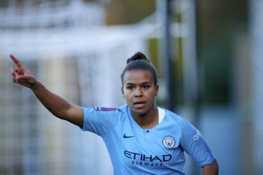 Manchester City ace Parris beats Miedema to Football Writers award