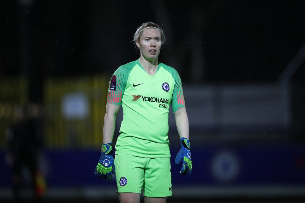 Curtain to come down on Lindahl's glittering Chelsea career