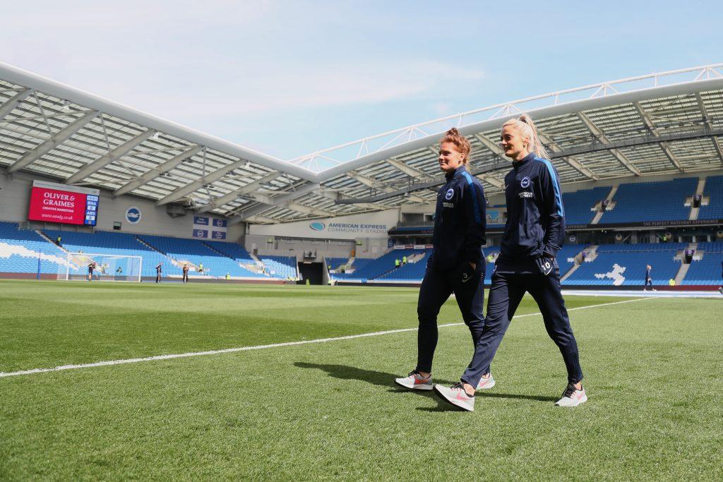 Brighton & Hove Albion break attendance record in fascinating first full-time season