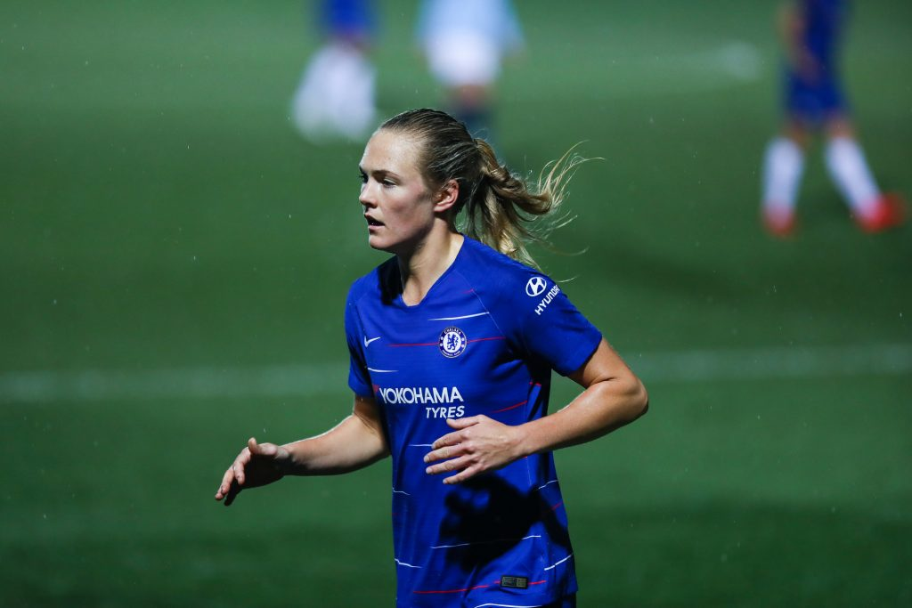 Chelsea defender Eriksson delighted to get over the line