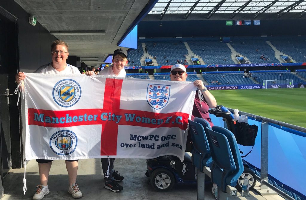 Manchester City Women Official Supporters' Club become members of the FSA