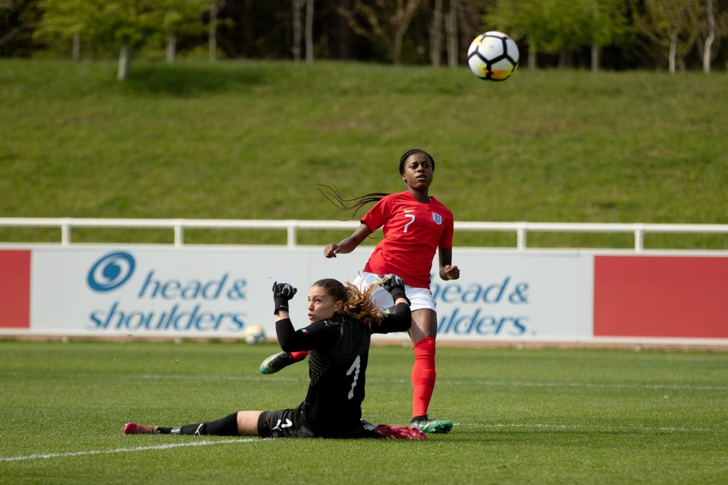 Spurs ace Naz nets consolation as Young Lionesses are defeated by Germany