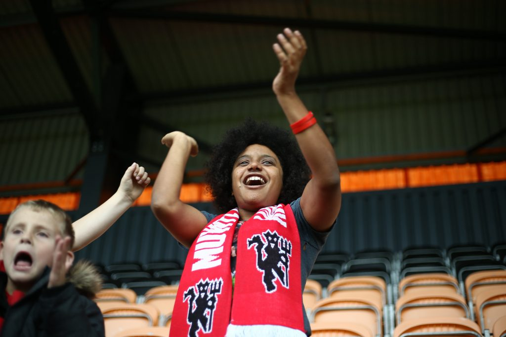 Meet the Manchester United Women Barmy Army: Natalie Burrell