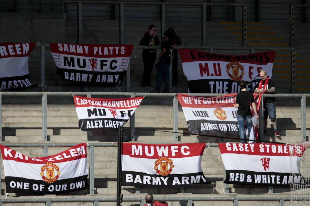 Meet the Manchester United Women Barmy Army: Iain Sealey