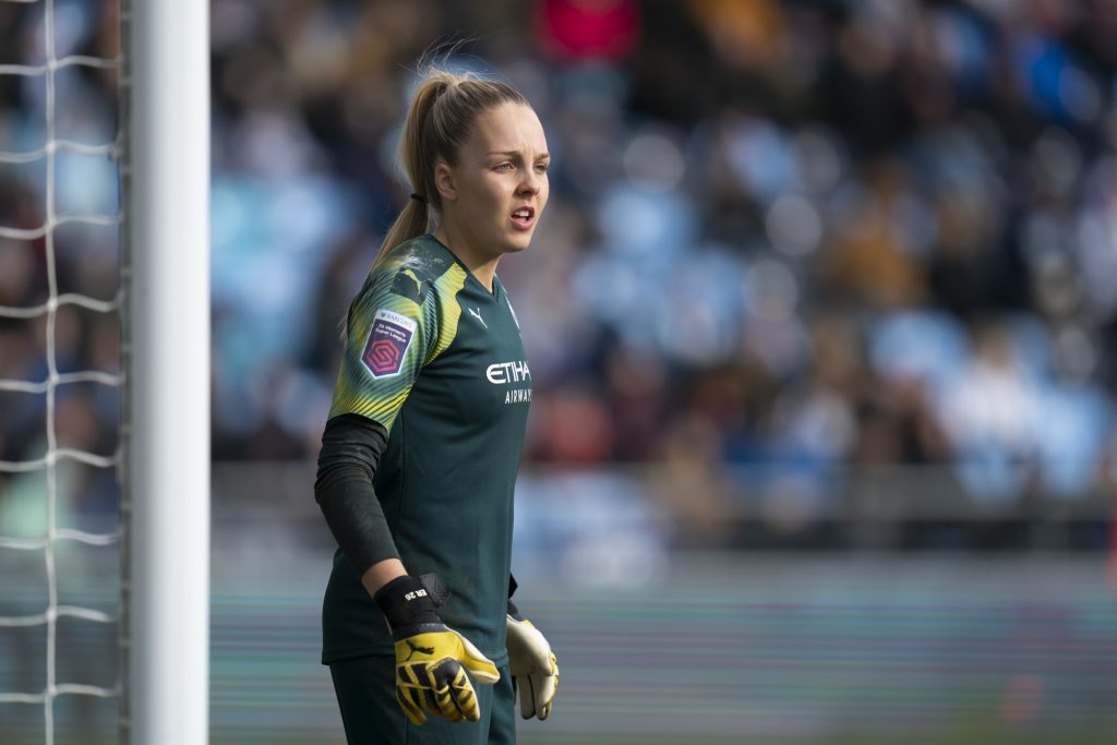 SheBelieves dream remains for Manchester City keeper Roebuck