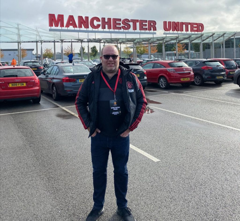 Meet the Manchester United Barmy Army: Marc Henry