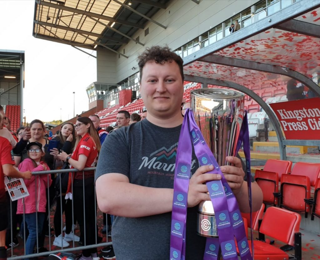 Meet the Manchester United Barmy Army: David Pritt