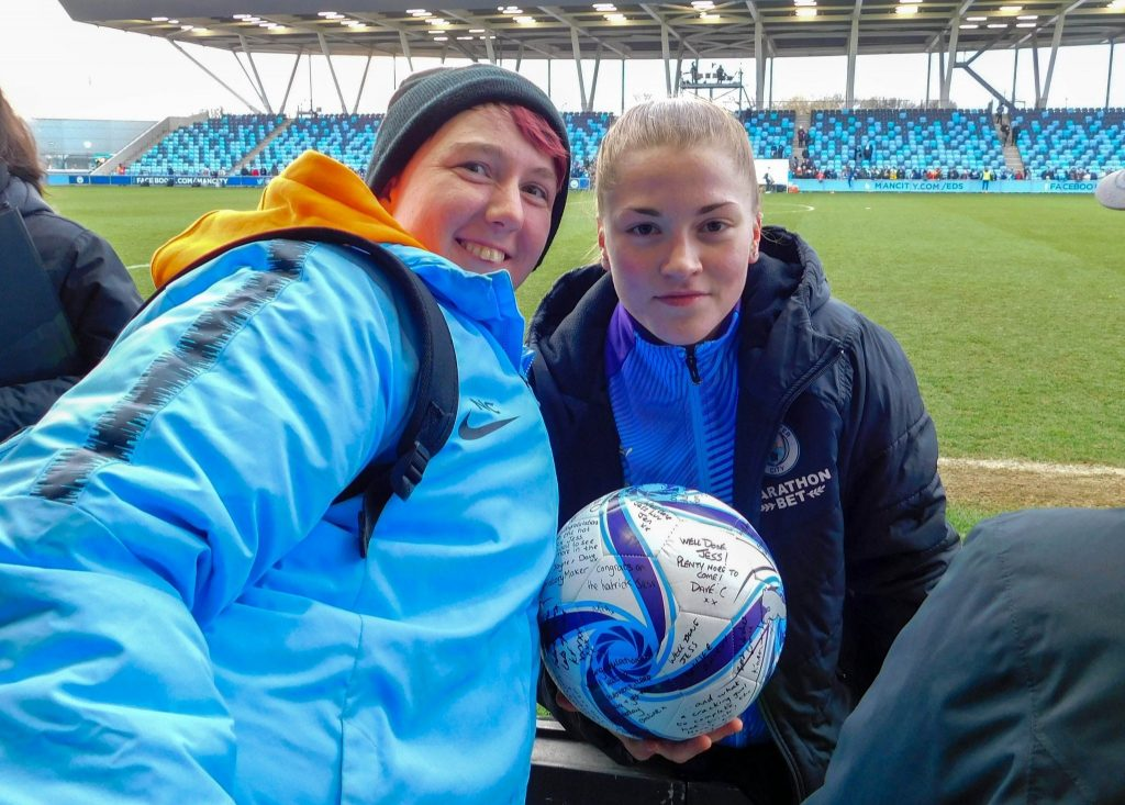 Manchester City Women OSC delighted to see Park sign professional deal