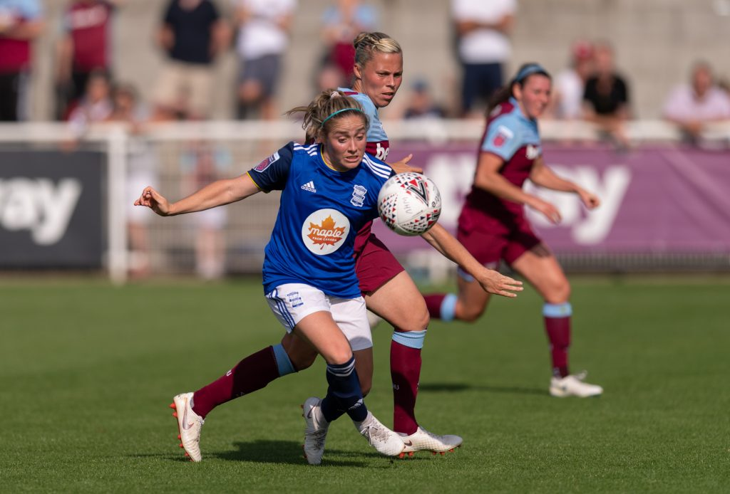 Birmingham City midfielder joins NWSL side Houston Dash after contract expires