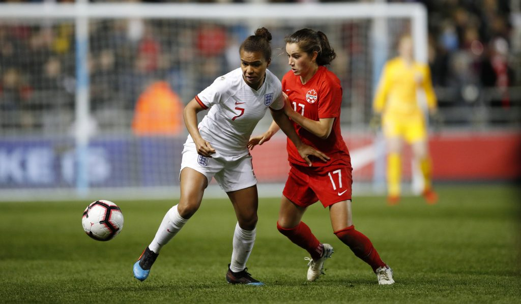 'She's going to be a legend' – Canada's Scott comments on qualities of Chelsea ace Fleming