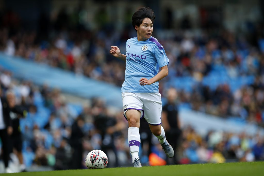 Manchester City forward joins Brighton & Hove Albion on season-long loan