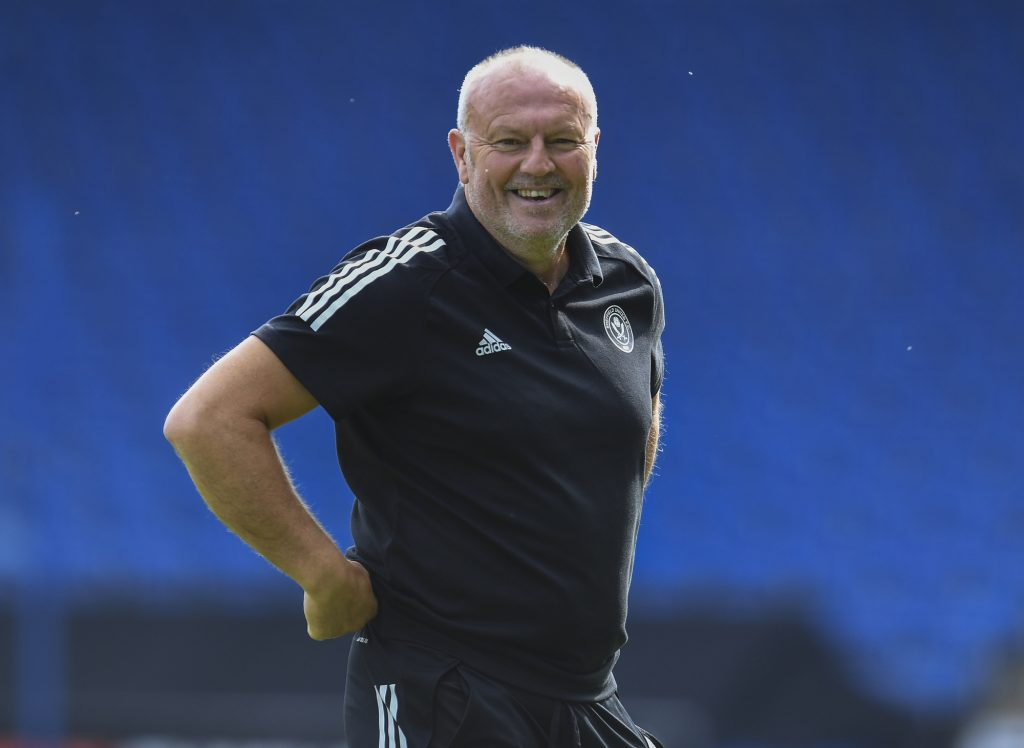Sheffield United head coach Redfearn signs new two-year deal