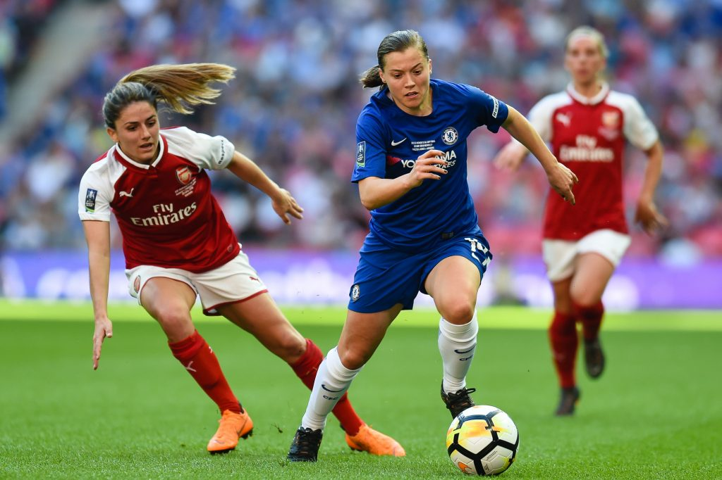 REWIND: Chelsea ace Kirby dazzles as Blues beat Gunners to lift Women's FA Cup
