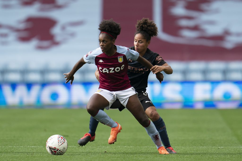 Aston Villa forward called-up by Portugal for UEFA Women's EURO play-off