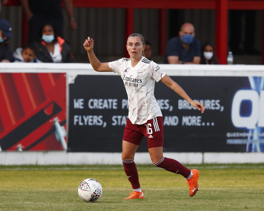 Arsenal trio amongst Swiss squad for UEFA Women's EURO 2022 play-offs