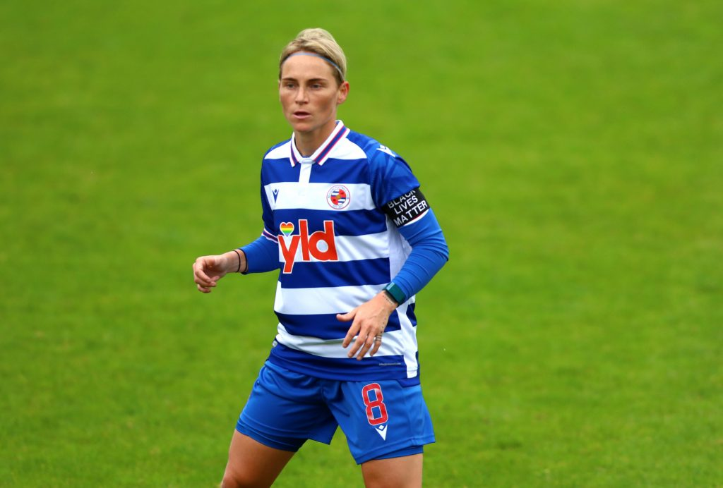 Reading midfielder Fishlock to return to OL Reign in April
