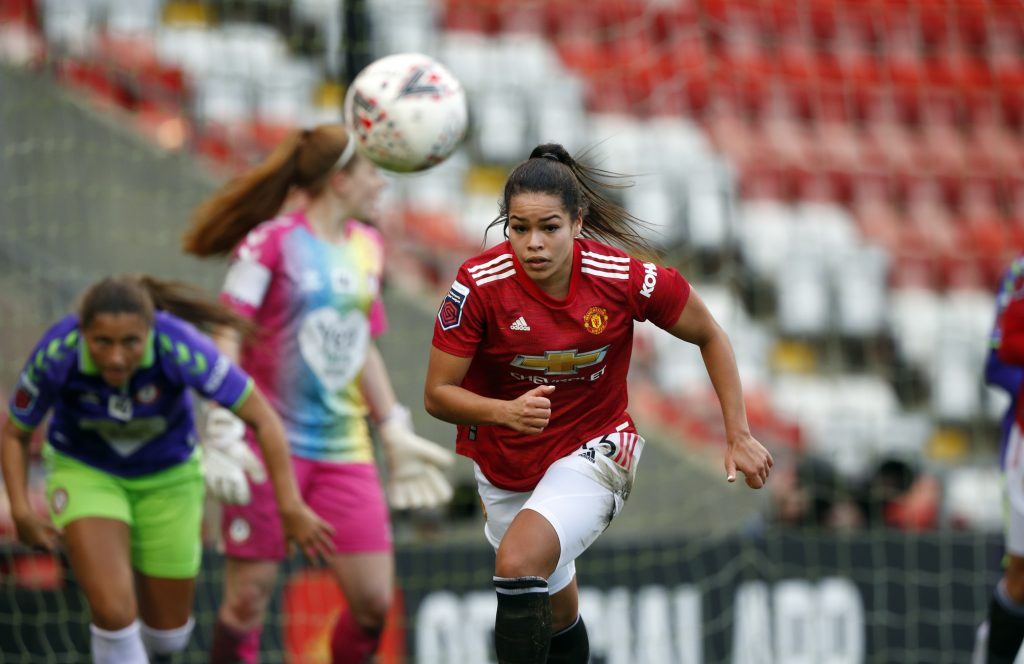 Manchester United forward Ivana handed full Brazil debut in victory over Canada