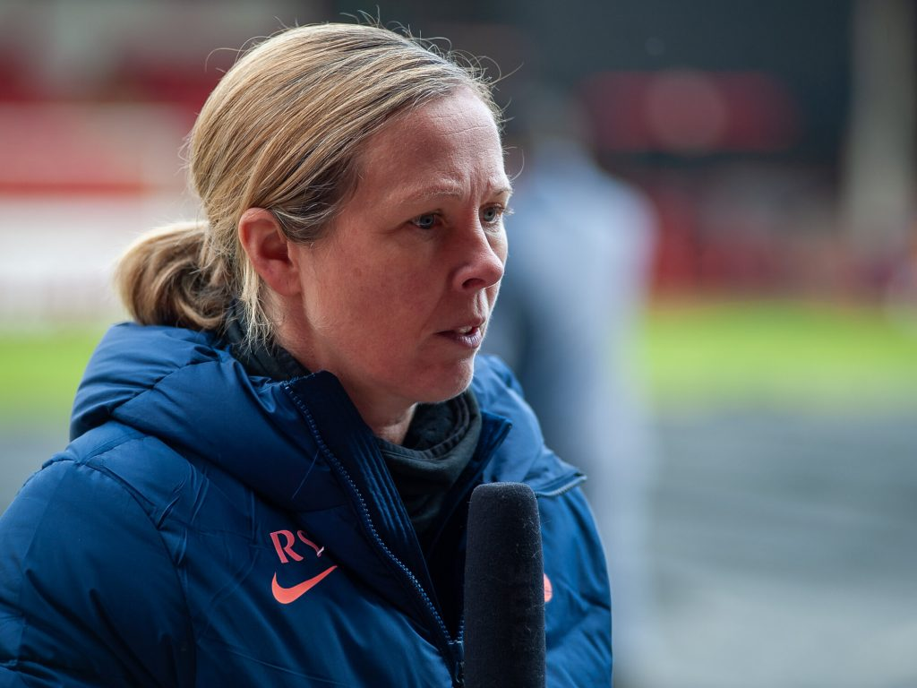 Spurs boss Skinner praises her team's hard work after extra-time victory over Reading
