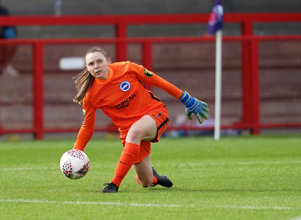 Brighton & Hove Albion keeper Walsh signs new two-year deal