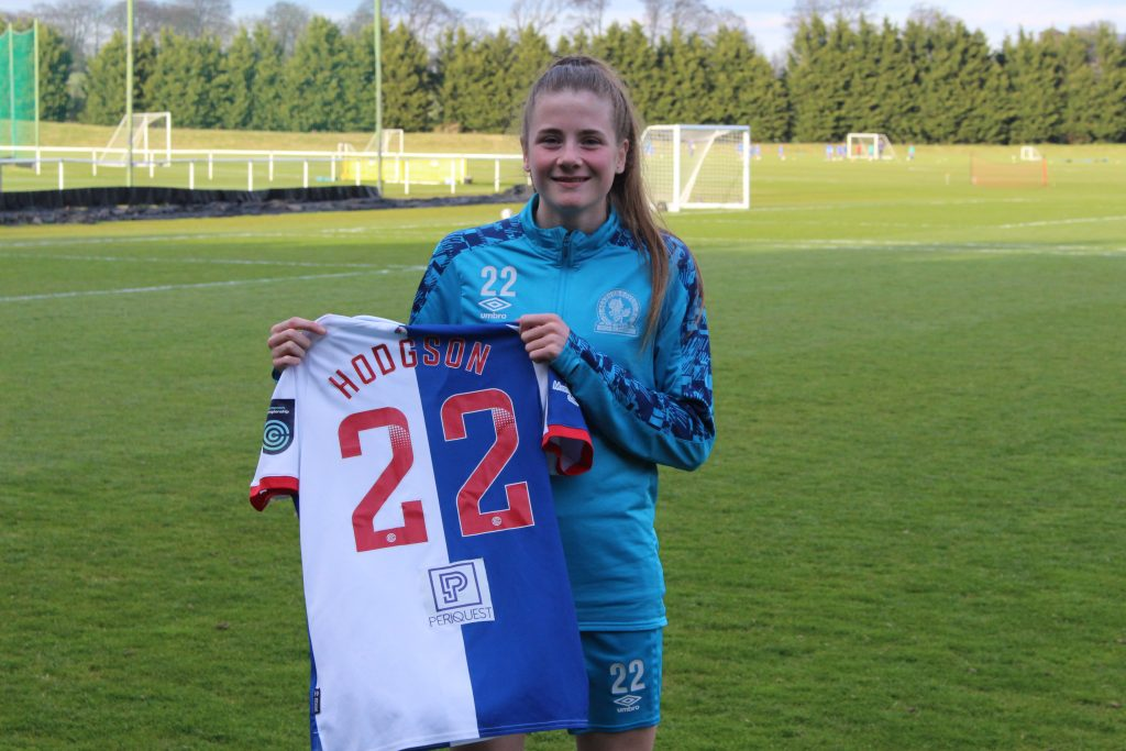 Teenage winger Hodgson signs first Blackburn Rovers deal