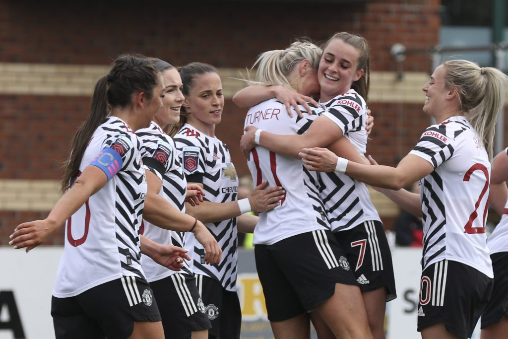 Manchester United net six at Burnley to cruise into Women's FA Cup fifth round