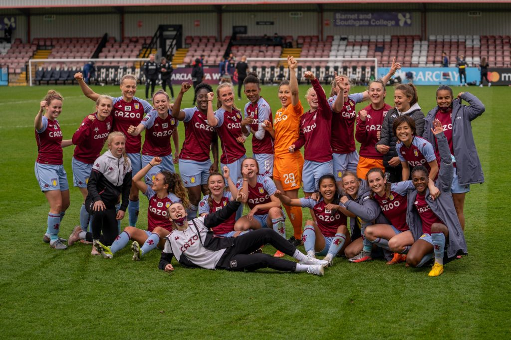 Aston Villa secure FAWSL safety following goalless draw with Arsenal