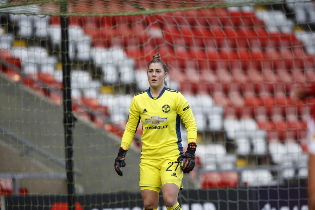 Baggaley a welcome addition to the Manchester United goalkeepers' union says Earps