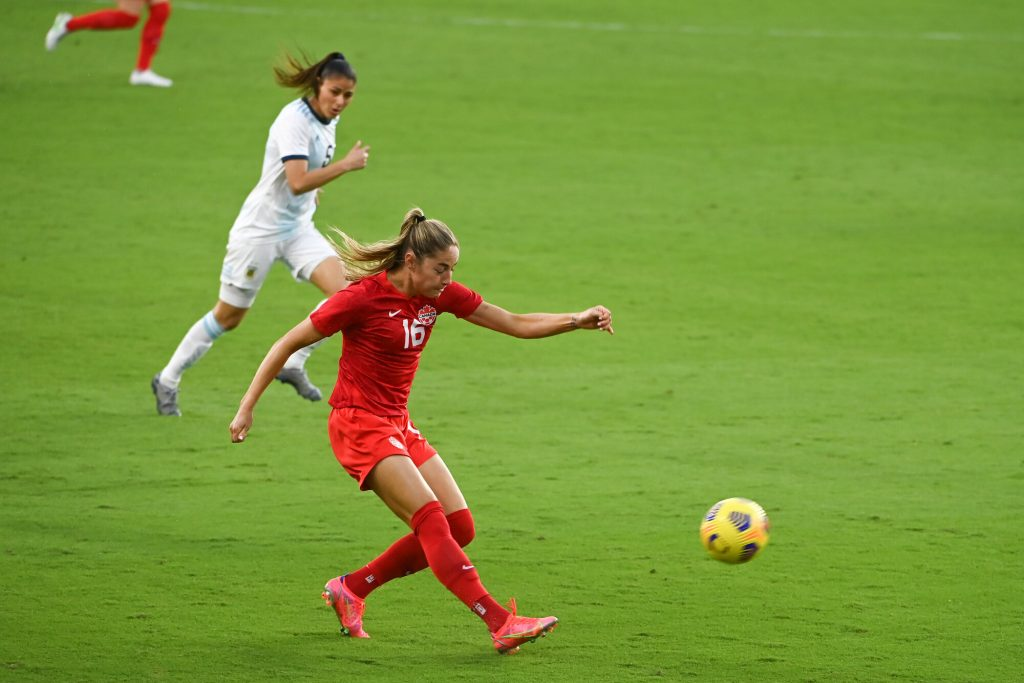 Canada have gained the respect of the English players says Manchester City's Beckie