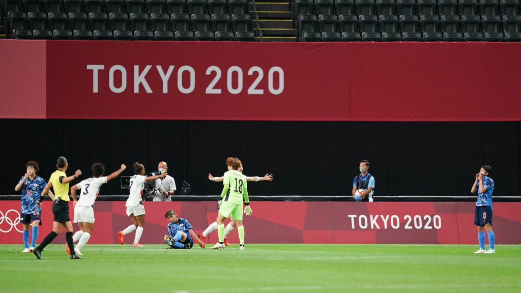 White on target again as Team GB record single goal victory over Japan